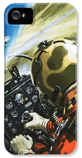 War In The Air IPhone 5 Case by Wilf Hardy