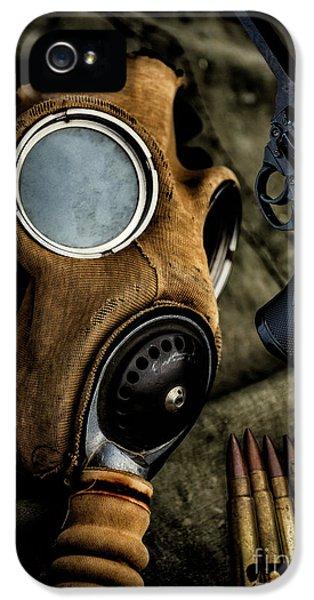 War Memorabilia IPhone 5 Case by Adrian Evans