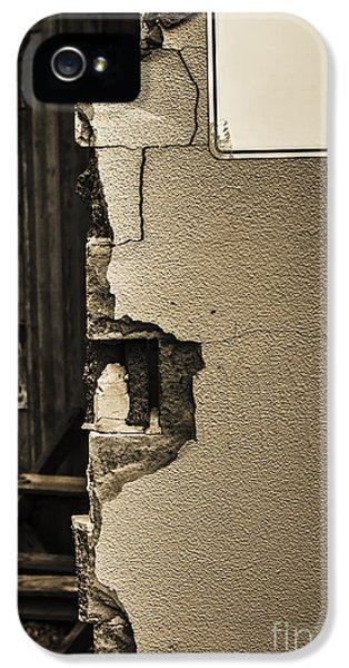 War Torn Wall IPhone 5 Case by Jorgo Photography - Wall Art Gallery