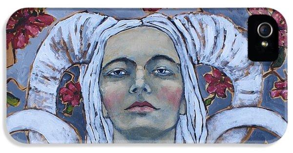 Portraits iPhone 5 Case - Warrior by Jane Spakowsky
