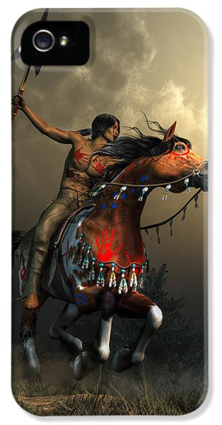 Warriors Of The Plains IPhone 5 Case