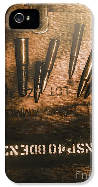 Wars And Old Ammunition IPhone 5 Case by Jorgo Photography - Wall Art Gallery