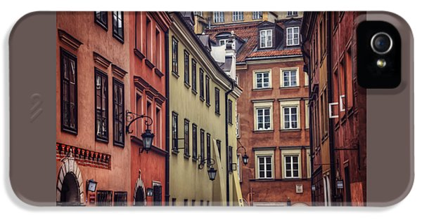 Warsaw Old Town Charm IPhone 5 Case
