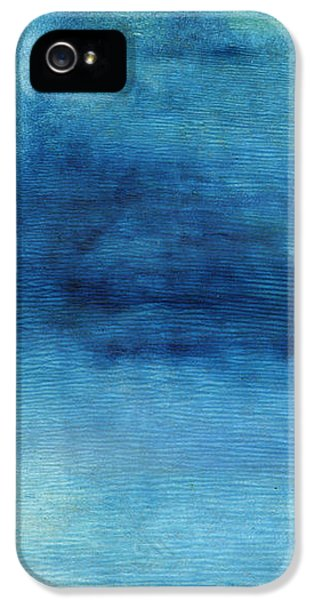 Wash Away- Abstract Art By Linda Woods IPhone 5 Case by Linda Woods