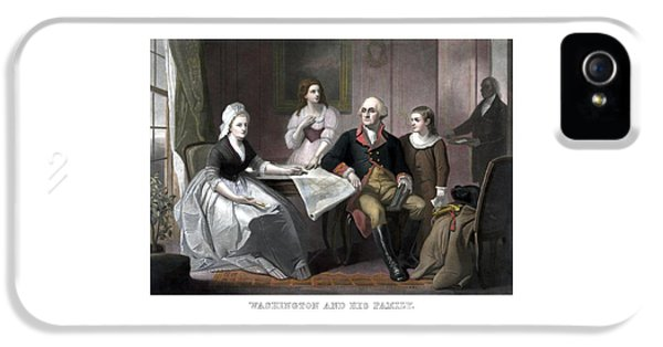 Washington And His Family IPhone 5 Case