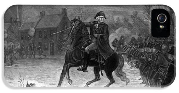 Washington At The Battle Of Trenton IPhone 5 Case