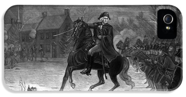 Washington At The Battle Of Trenton IPhone 5 Case