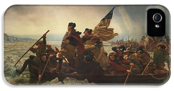 Washington Crossing The Delaware IPhone 5 / 5s Case by War Is Hell Store