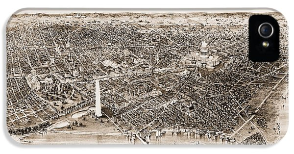 Washington D.c iPhone 5 Case - Washington D.c., 1892 by Granger
