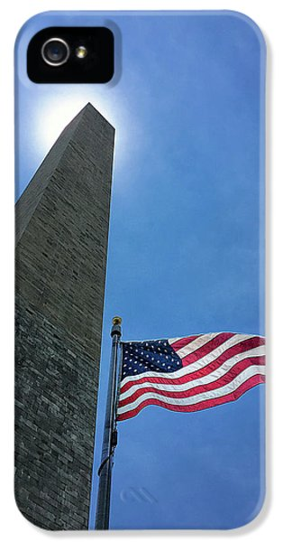 Washington Monument iPhone 5 Case - Washington Monument by Andrew Soundarajan
