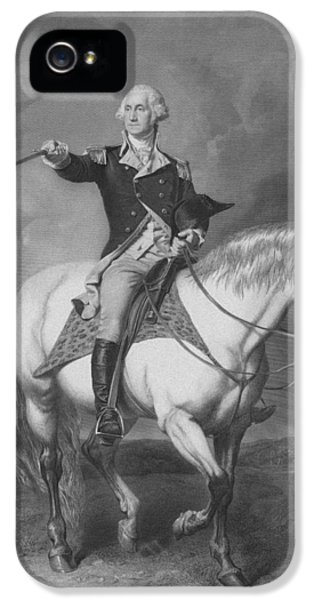 Washington Receiving A Salute At Trenton IPhone 5 Case