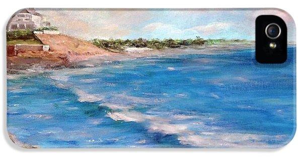 Watch Hill Beach IPhone 5 Case by Anne Barberi