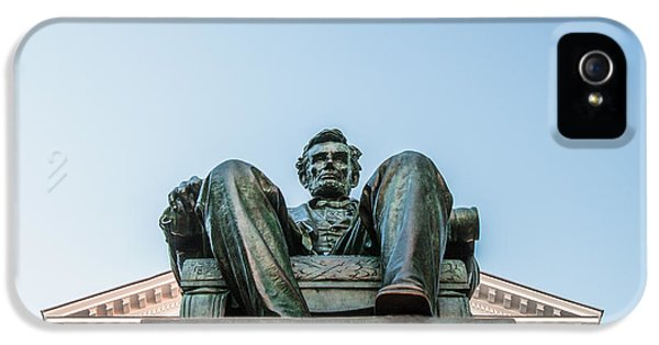 Watchful Abe IPhone 5 Case by Todd Klassy
