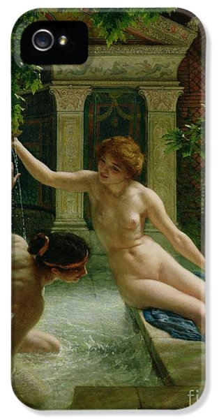 Gay iPhone 5 Cases - Water Babies iPhone 5 Case by Sir Edward John Poynter