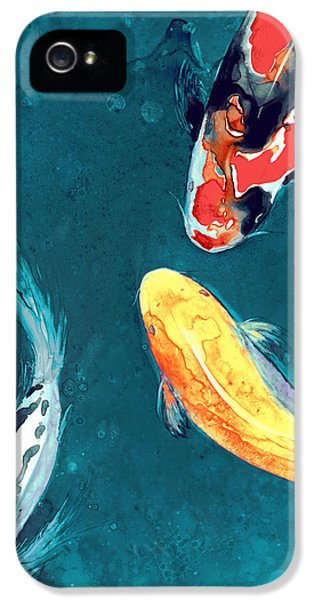 Koi iPhone 5 Case - Water Ballet by Brazen Design Studio