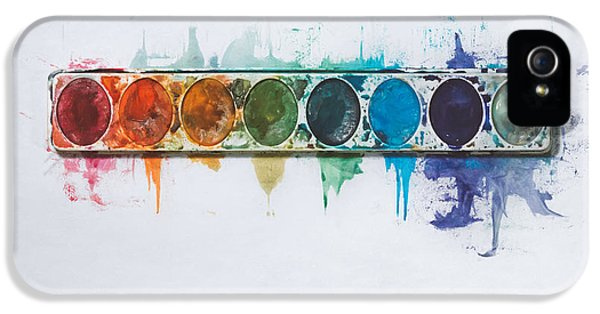 Water Colors IPhone 5 / 5s Case by Scott Norris