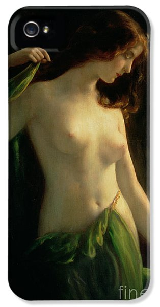 Water Nymph IPhone 5 Case by Otto Theodor Gustav Lingner