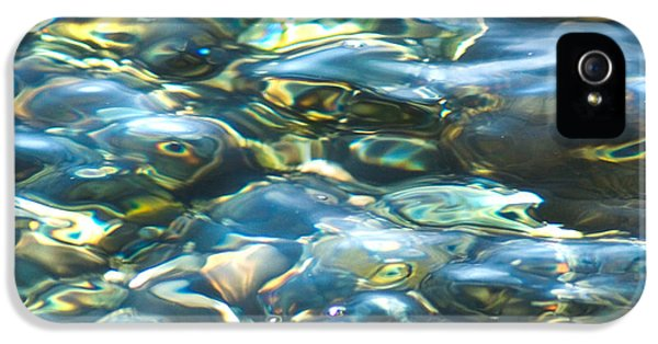 IPhone 5 Case featuring the photograph Water World, Square by Yulia Kazansky