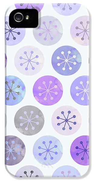 Watercolor Lovely Pattern II IPhone 5 Case by Amir Faysal