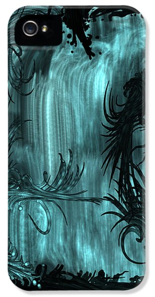 iPhone 5 Case - Waterfall by Orphelia Aristal