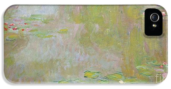 Lily iPhone 5 Case - Waterlilies At Giverny by Claude Monet
