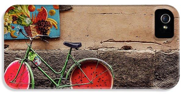 Watermelon Wheels IPhone 5 Case