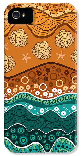 Waves IPhone 5 Case by Veronica Kusjen