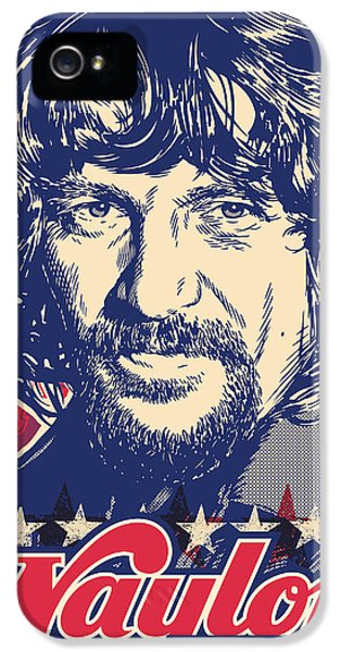 Waylon Jennings Pop Art IPhone 5 Case by Jim Zahniser