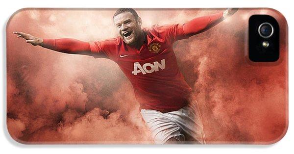 Wayne Rooney  IPhone 5 Case