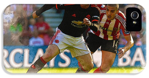 Wayne Rooney Is Marshalled IPhone 5 Case