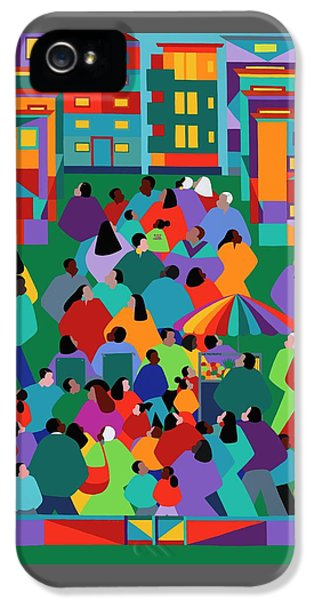 iPhone 5 Case - We The People One by Synthia SAINT JAMES