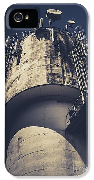 Weathered Water Tower IPhone 5 Case