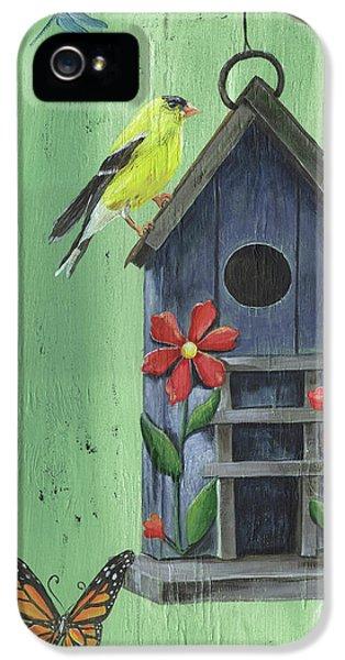 Welcome Goldfinch IPhone 5 Case by Debbie DeWitt