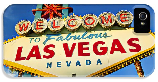 Welcome To Las Vegas Sign IPhone 5 Case