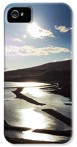 Sunny iPhone 5 Case - West Fjords Iceland Europe by Matthias Hauser