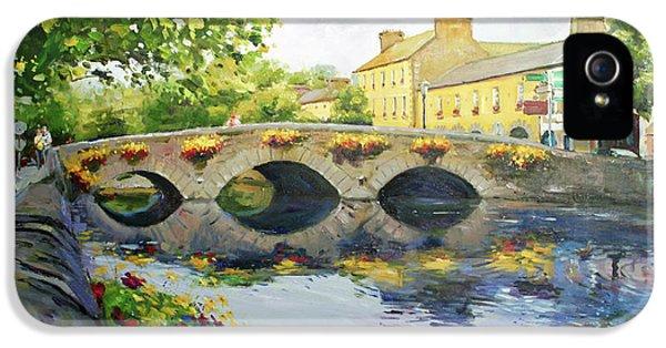 Irish iPhone 5 Cases - Westport Bridge County Mayo iPhone 5 Case by Conor McGuire