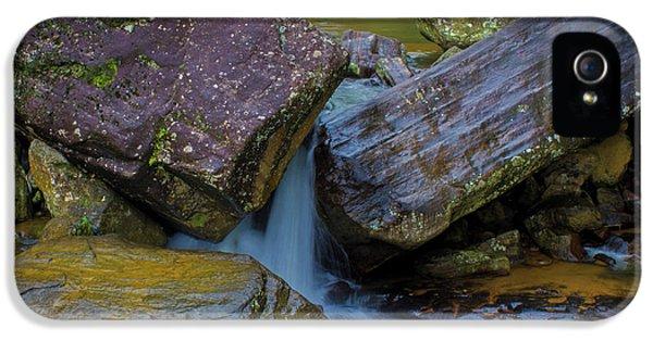 IPhone 5 Case featuring the photograph Wet Rocks 3, Sri Lanka, 2012 by Hitendra SINKAR