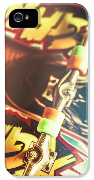 Truck iPhone 5 Case - Wheels Trucks And Skate Decks by Jorgo Photography - Wall Art Gallery