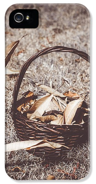 When Autumn Leaves IPhone 5 Case by Jorgo Photography - Wall Art Gallery