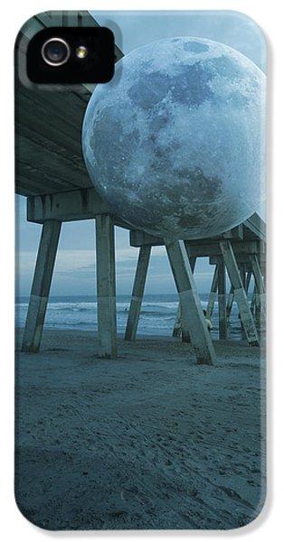 Waning Moon IPhone 5 Case by Betsy Knapp
