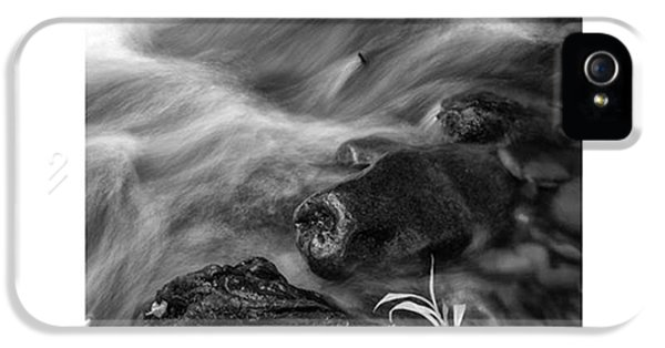 iPhone 5 Case - While Standing Next To A Stream I by Jon Glaser