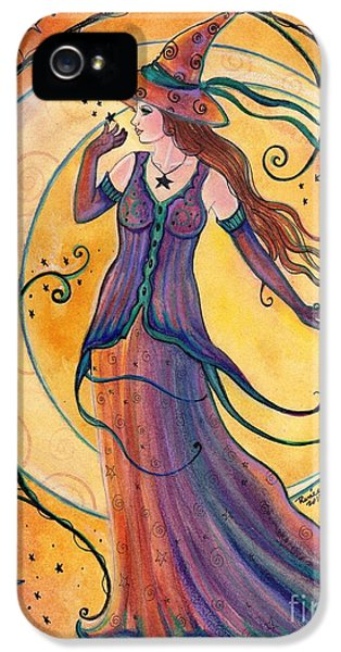 Whimsical Evening Witch IPhone 5 Case