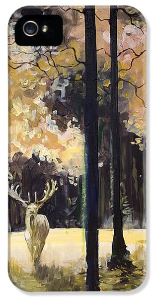 White Stag IPhone 5 Case
