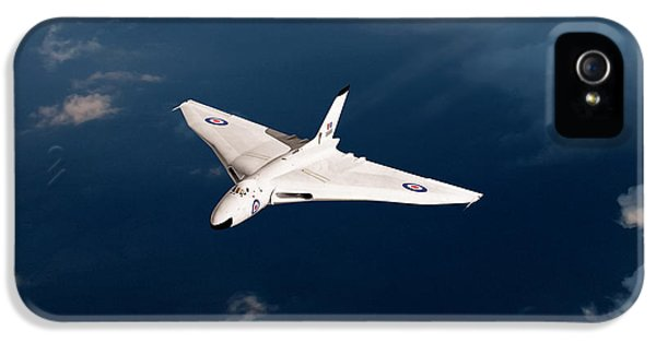 IPhone 5 Case featuring the digital art White Vulcan B1 At Altitude by Gary Eason