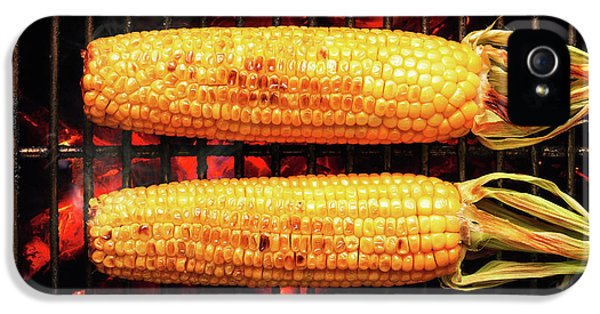 Whole Corn On Grill IPhone 5 Case