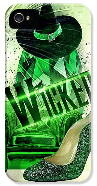 Wicked IPhone 5 Case by Mo T