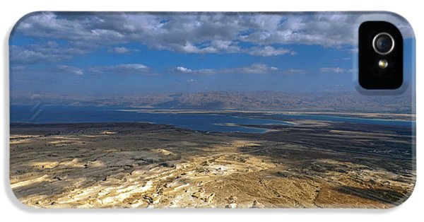 Wide View From Masada IPhone 5 Case by Dubi Roman