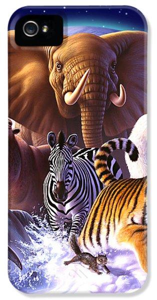Wild World IPhone 5 Case by Jerry LoFaro