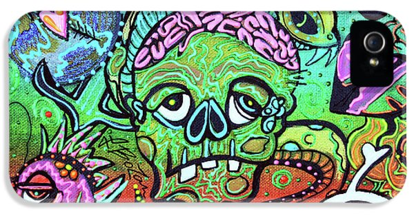 Wild Zombie IPhone 5 Case by Laura Barbosa