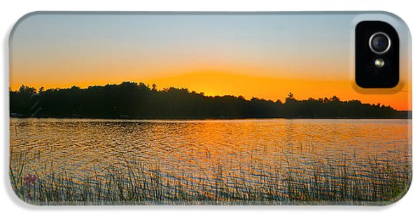 Wilderness Point Sunset Panorama IPhone 5 Case